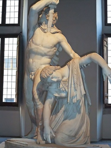 The Ludovisi Gaul thought to be a Roman copy of Greek original by Epigonus commissioned by Julius Caesar 1st century BCE