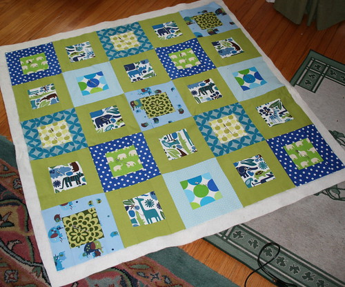 Baby Quilt by sewgirly!.