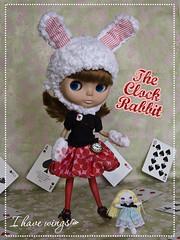 The Clock Rabbit~ Alice in Wonderland challenge