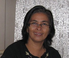 Women and Climate Change :  Ms. Esmao, farmer leader from PAKISAMA, Philippines