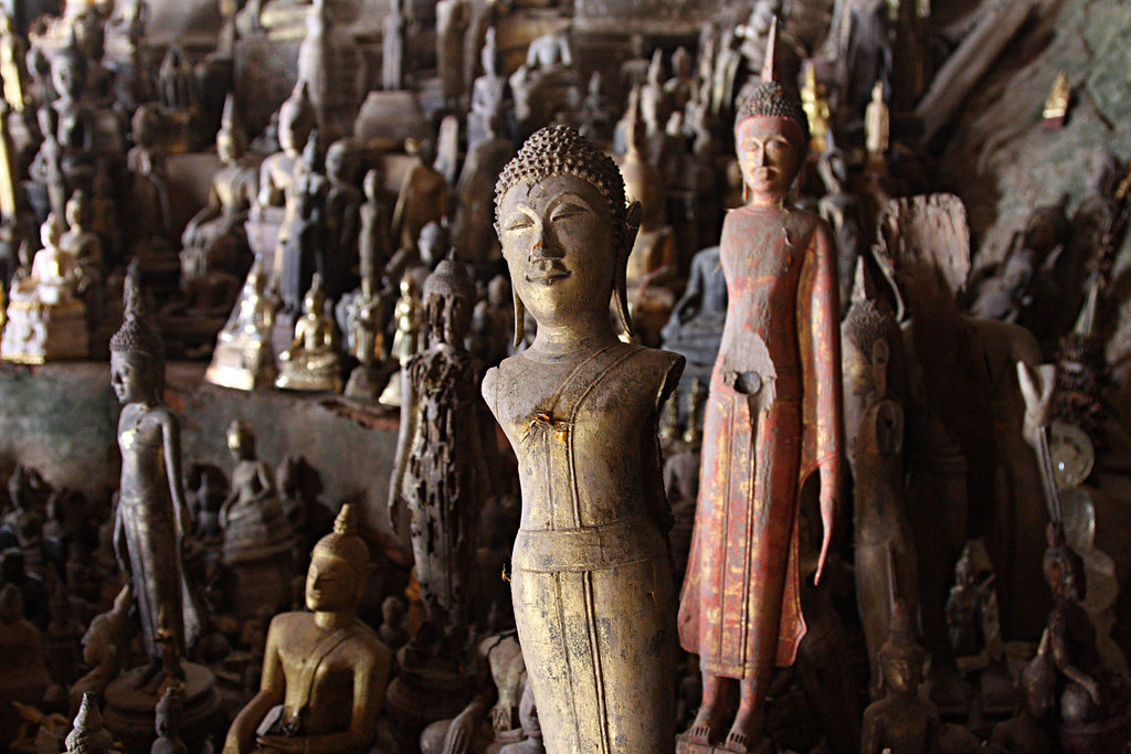 Pak Ou Cave, around Luang Prabang