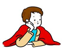 me as peter pan (bengi gencer) Tags: illustration peterpan bengigencer