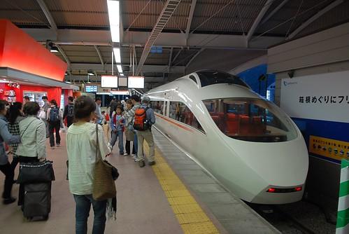 Jerry & Grace 拍攝的 小田急浪漫號列車。