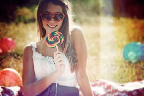 colored glasses women happy Pics