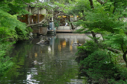 Pond at Jindai temple