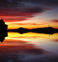 Reflect (sir_watkyn) Tags: sunset sky india reflection composition landscape shimla interestingness dusk silhouettes hues soe himachal pradesh mywinners abigfave platinumphoto colorphotoaward ysplix theunforgettablepictures sirwatkyn graphicmaster