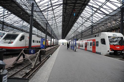 フィンランドの電車