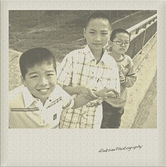 memories (alek_siev) Tags: china people boys polaroid chinese tianjin streetshot chldren