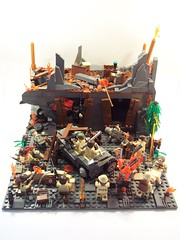 St. Lo, 1944 (Andrew F.) Tags: world two st war lego wwii lo ww2 brickarms
