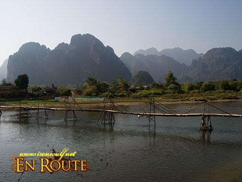 Vang Vieng River and Karst