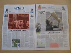 Sport am Dienstag: In WAZ und RN