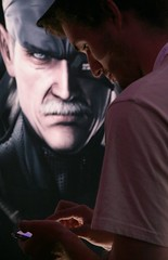 e3 gamer metal gear solid touch (jontintinjordan) Tags: metal touch gear e3 solid iphone e309