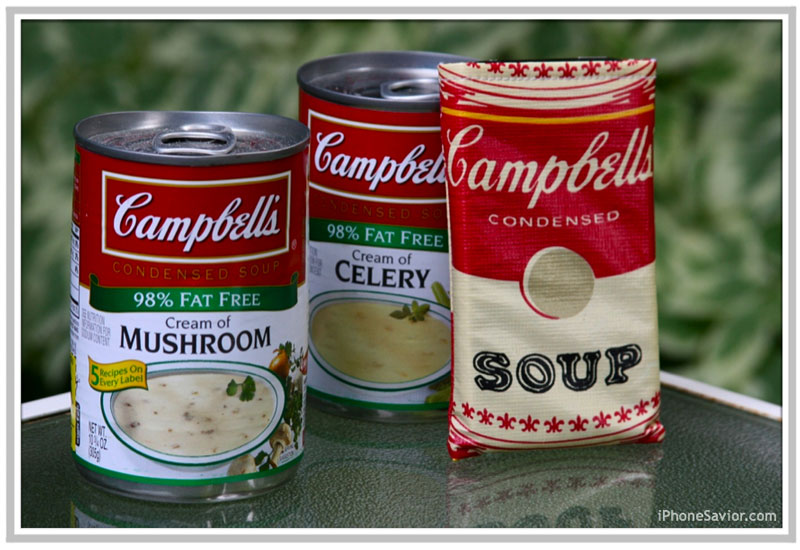 iPhone Campbell's Soup Sleeve