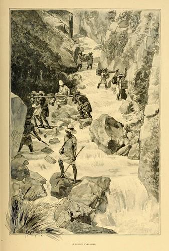005-El camino de Andasibe-Madagascar finales siglo XIX