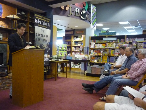 Andre Dubus reading 001