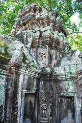 DSC_0646 (ASR Photos) Tags: tree tower abandoned stone temple mural ruins cambodia khmer buddhist roots buddhism jungle siem reap damage khan angkor wat buddah rubble preah overrun