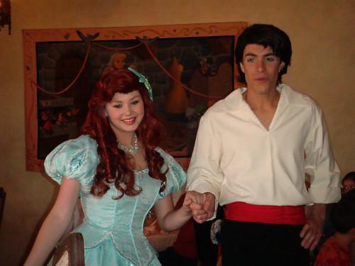 Ariel y su Príncipe