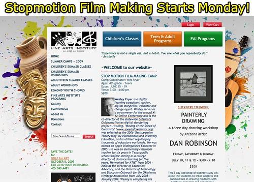 Stopmotion Film Making Starts Monday!