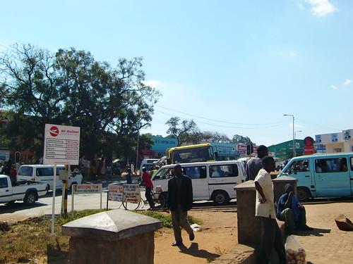 Old Town Lilongwe near the market