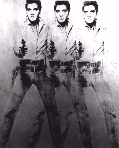 Andy Warhol-Triple Elvis