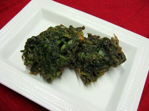 Buñuelos de Espinaca - Spinach Fritters