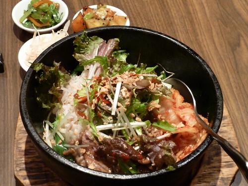 韓式牛雪花拌飯