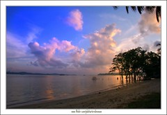 Morning View @ 7:36am (Ericbronson's Photography) Tags: morning beach nature sunrise interesting singapore pasir ris thegalaxy aplusphoto ericbronson mygearandme mygearandmepremium