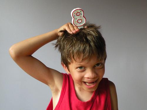 Rowan is 8!