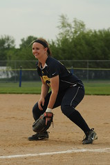 12_5264 (Joels Fastpitch Photos) Tags: minnesota emily away highschool varsity tigers softball catcher gregory lakers fastpitch hutchinson 2010 firstbase priorlake