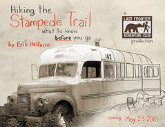 Promo Poster (Pathfinder Image & Design) Tags: camping chris camp bus film alex alaska trekking trek river movie video crossing cross hiking christopher hike backpacking alexander 142 stampede teklanika magicbus savage supertramp christophermccandless mccandless alexandersupertramp stampedetrail chrismccandless bus142 stampederoad