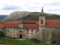Nogueira de Ramun (Ourense). Monasterio de Santo Estevo do Rivas do Sil (rabiespierre) Tags: monasterio ourense ribeirasacra benedictinos nogueiraderamun