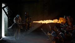 N.O.M. Vs Zombs (nael.) Tags: toy toys actionfigure fire nikon 3a burn photomontage zomb zombies flamme feu thrower gazmask postfire wwr ashleywood nom photoretouching friche nael d80 retouchephoto naël worldwarrobots lanceflamme threea menfromnom adventurekartel boilerzomb thricenaut naelbrun flammethrower