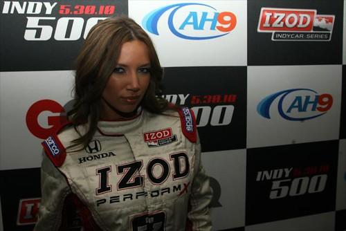 THE IZOD girl