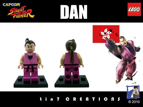 Custom minifig #18 - Dan