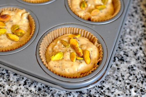 Pistachio Chai Muffins