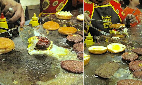 Om Ramly burger, Ampang