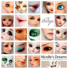 Nicolles Dreams Collage (***Andreja***) Tags: ball doll bjd jointed andreja faceup