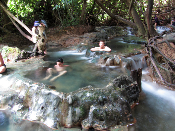 Khlong Tom - Hot Spring Waterfall