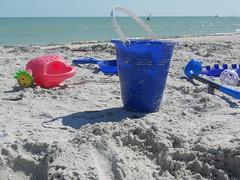 abandoned. (juliepass) Tags: sunset lighthouse sunrise florida springbreak seashell sanibel sanibelisland beachbike sandtoys 2011 twisteetreat