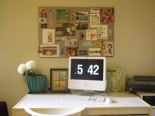 Living Room - desk