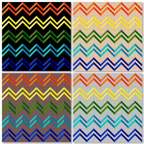 Zig Zag Background Options