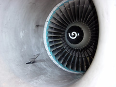 CFM56 in test cell (Ian E. Abbott) Tags: mechanical jet jetengine mro aircraftengine turbofan turbineengine cfm56 testcell cfminternational highbypassturbofan aviationmaintenance highbypassratio aircraftenginetesting aviationmro