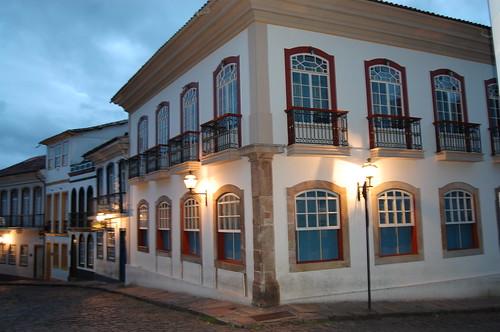 Ouro Preto at Dusk