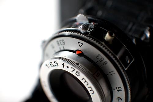 Zeiss Ikon Nettar 518/16 Lens