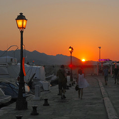 sunset in Saint-Florent, Corsica (Werner Schnell Images (2.stream)) Tags: sunset summer port evening corse corsica nightlife werner ws korsika schnell saintflorent stflorent wernerschnell wernerschnellimages