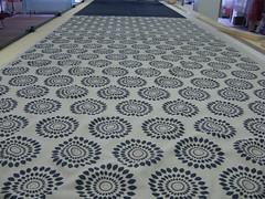 Sumor Pattern (Bianca van Meeuwen) Tags: linen cotton textiles patterndesign screenprintedfabric inkspindle handprintedtextiles