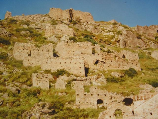 Πελοπόννησος - Λακωνία - Δήμος Γερoνθρών Βυζαντινό Κάστρο Γερακίου