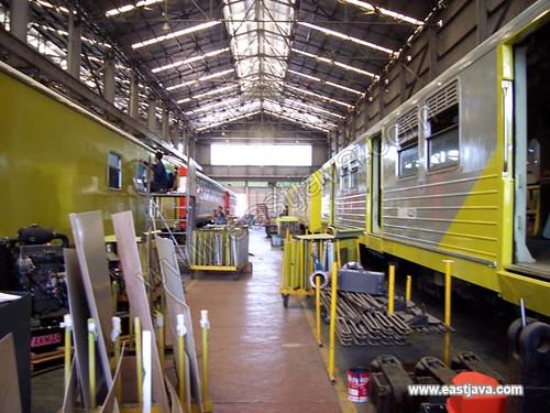 PT INKA (Indonesia Railway Industry) - Madiun - East Java