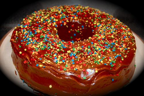 looks like a big donut