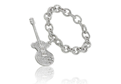 Life is Music :  diamonds life is music bracelet tous